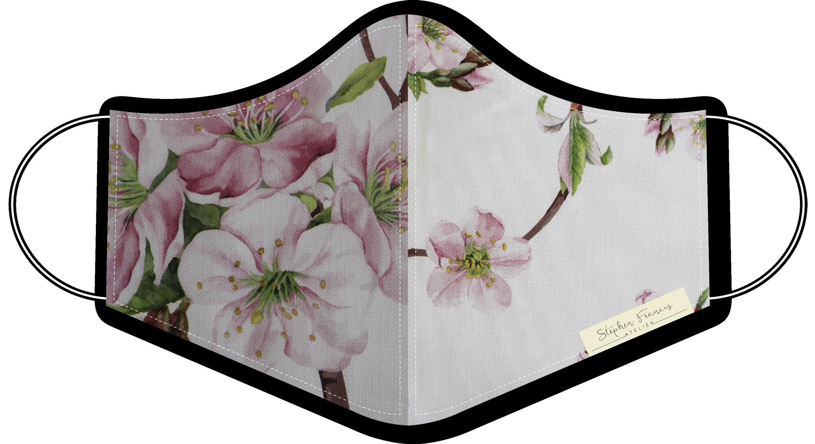 digital mask pink floral WEB